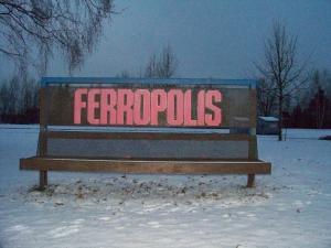 Die Baggerstadt Ferropolis
